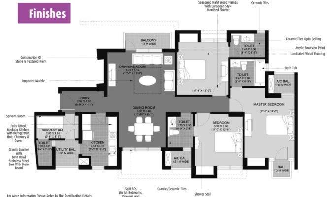Unique Finish Floor Plan Architecture Plans