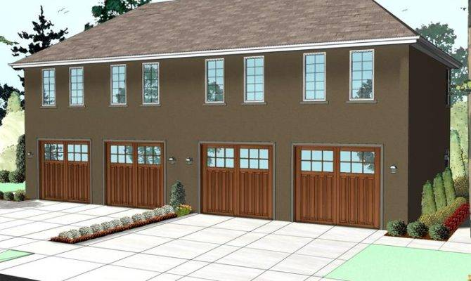 Unique Garage Plans Double Apartment Plan