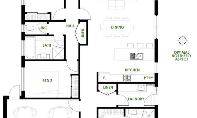 Unique Green Home Designs Floor Plans House Ideas