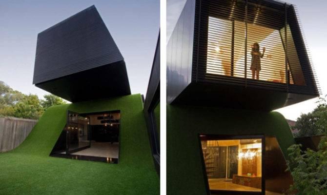 Unique Hill House Design Melbourne Australia Enpundit