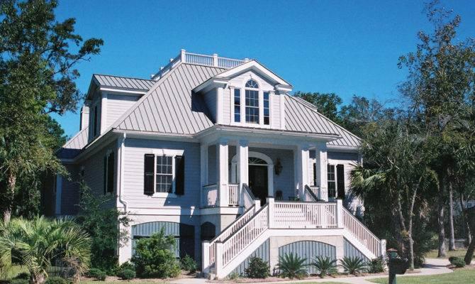 Unique Historic Charleston Style House Plans