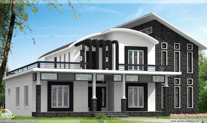 Unique Home Design Can Kerala