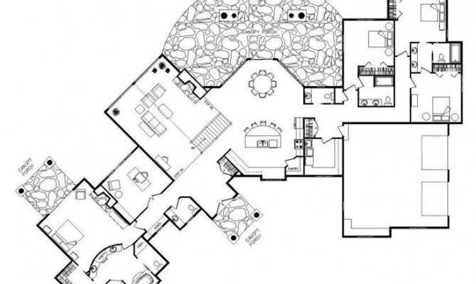 Unique Home Floor Plans Homes
