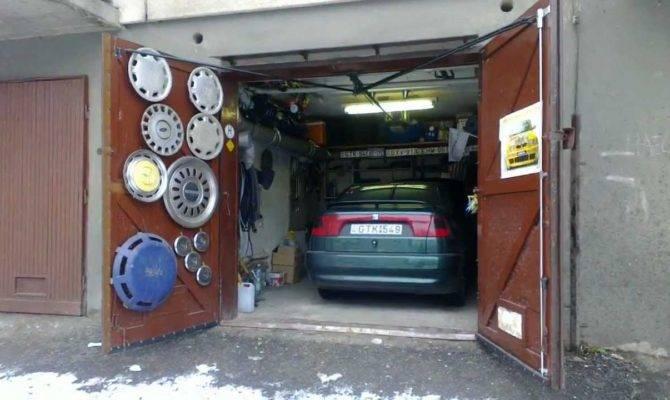 Unique Home Made Garage Door Opener Youtube