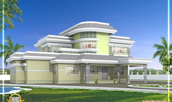 Unique House Design Kerala Home