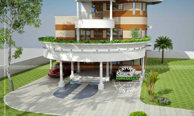 Unique House Plan Kerala Home Design Floor