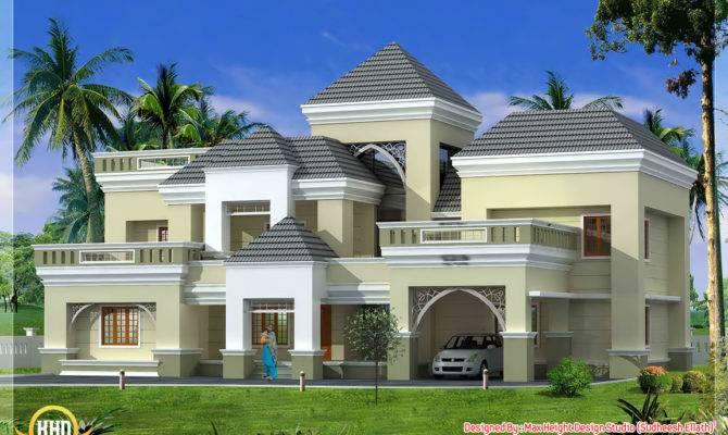 Unique Kerala Home Plan Elevation Indian Decor