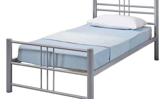 Unique Latest Design Single Sleeping Bed Cheap Metal
