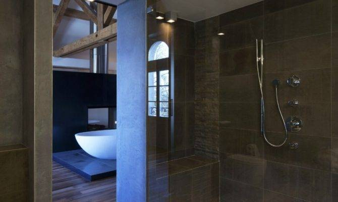 Unique Modern Bathroom Shower Design Ideas