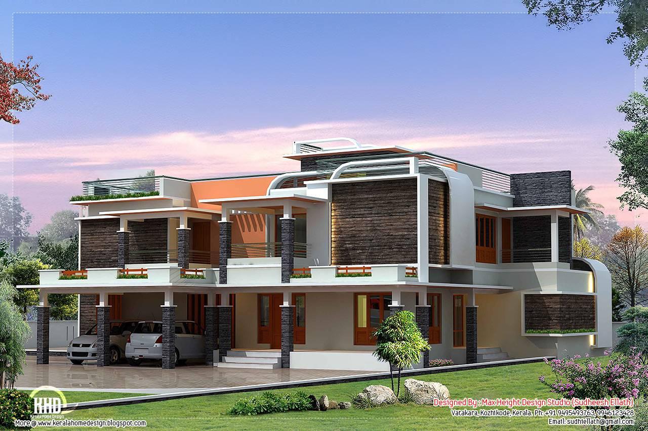 Unique Modern Villa Design House Plans House Plans