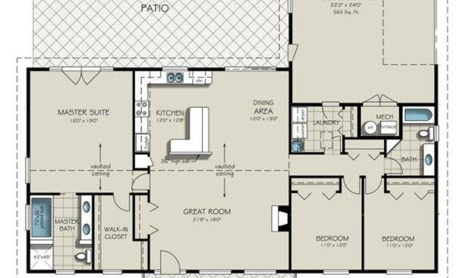 Unique Ranch Style House Plans Garage New Home