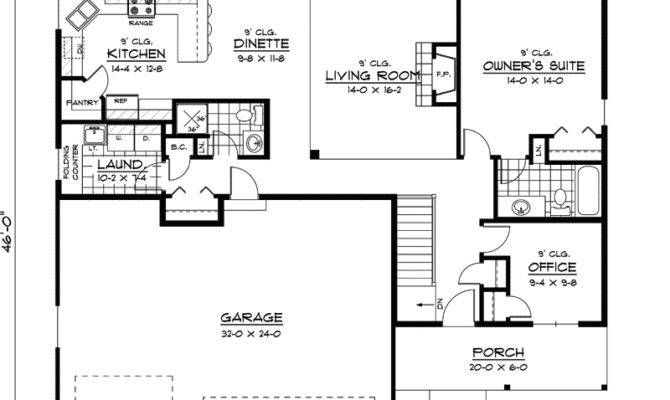 Unique Simple Ranch House Plans