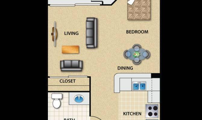 Unique Studio Apartment Floor Plan Inspiration Design