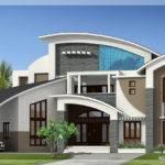 Unique Super Luxury Kerala Villa Home Design