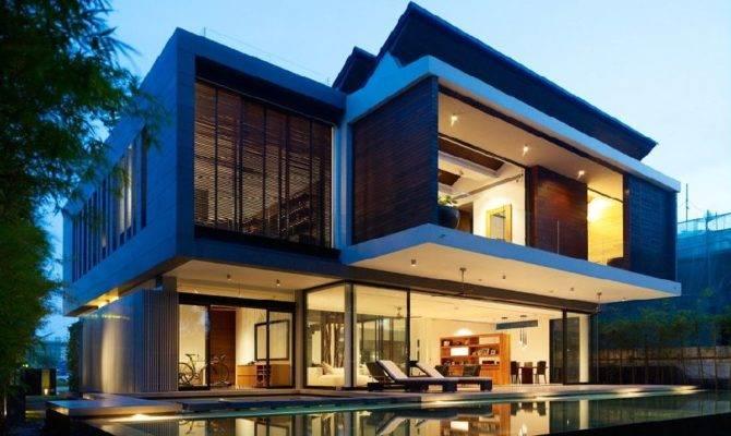 Unique Tropical House Plans Modern Design