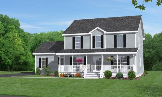 Unique Two Story Home Plans House