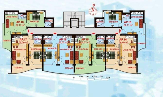 Unit Apartment Building Floor Plans Success