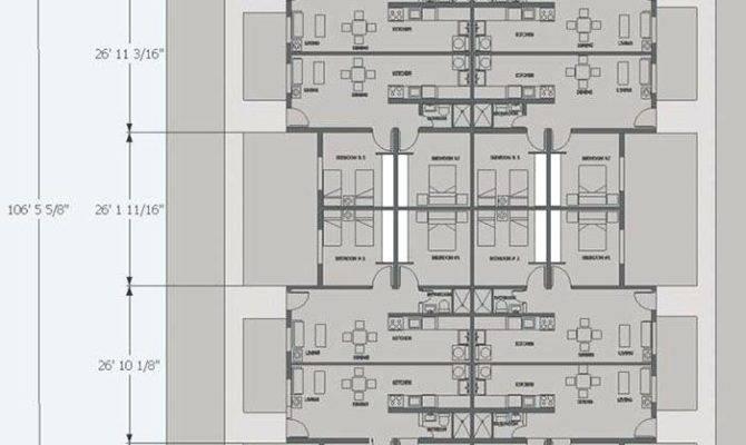Unit Apartment Building Plans Home Design Ideas