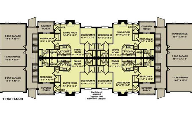 Unit Apartment Building Plans Home Design