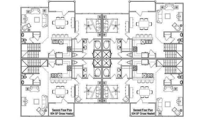 Unit Apartment Building Plans Multifamilybuildingplans