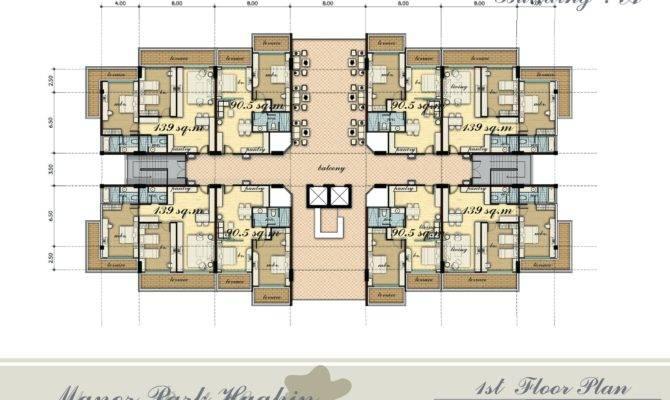 Unit Apartment Plans Kampot