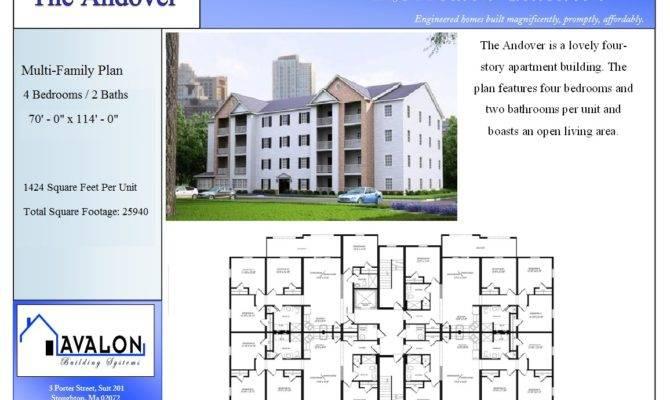 Unit Multi House Plans
