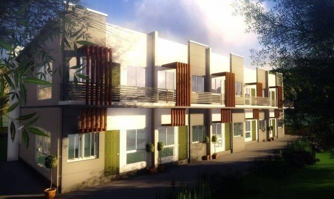 Units Story Apartment Modern Zen Type Design