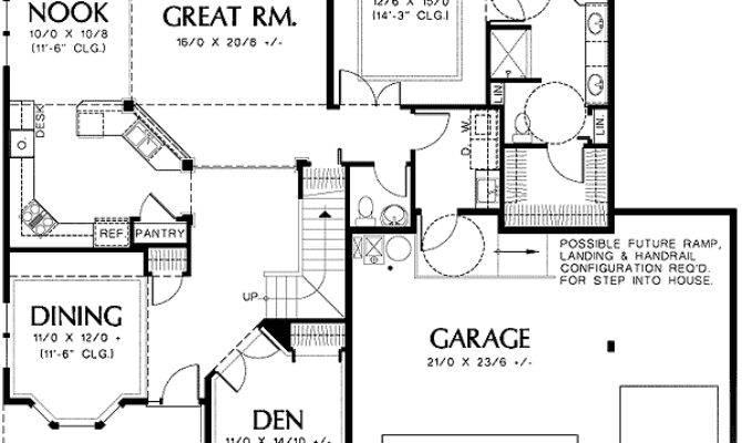 Universal Design Plan Great Room