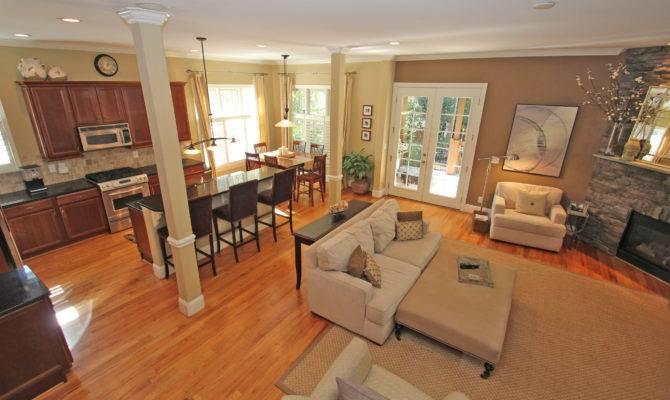 Uploads Open Kitchen Living Room Floor Plan House Plans 39172