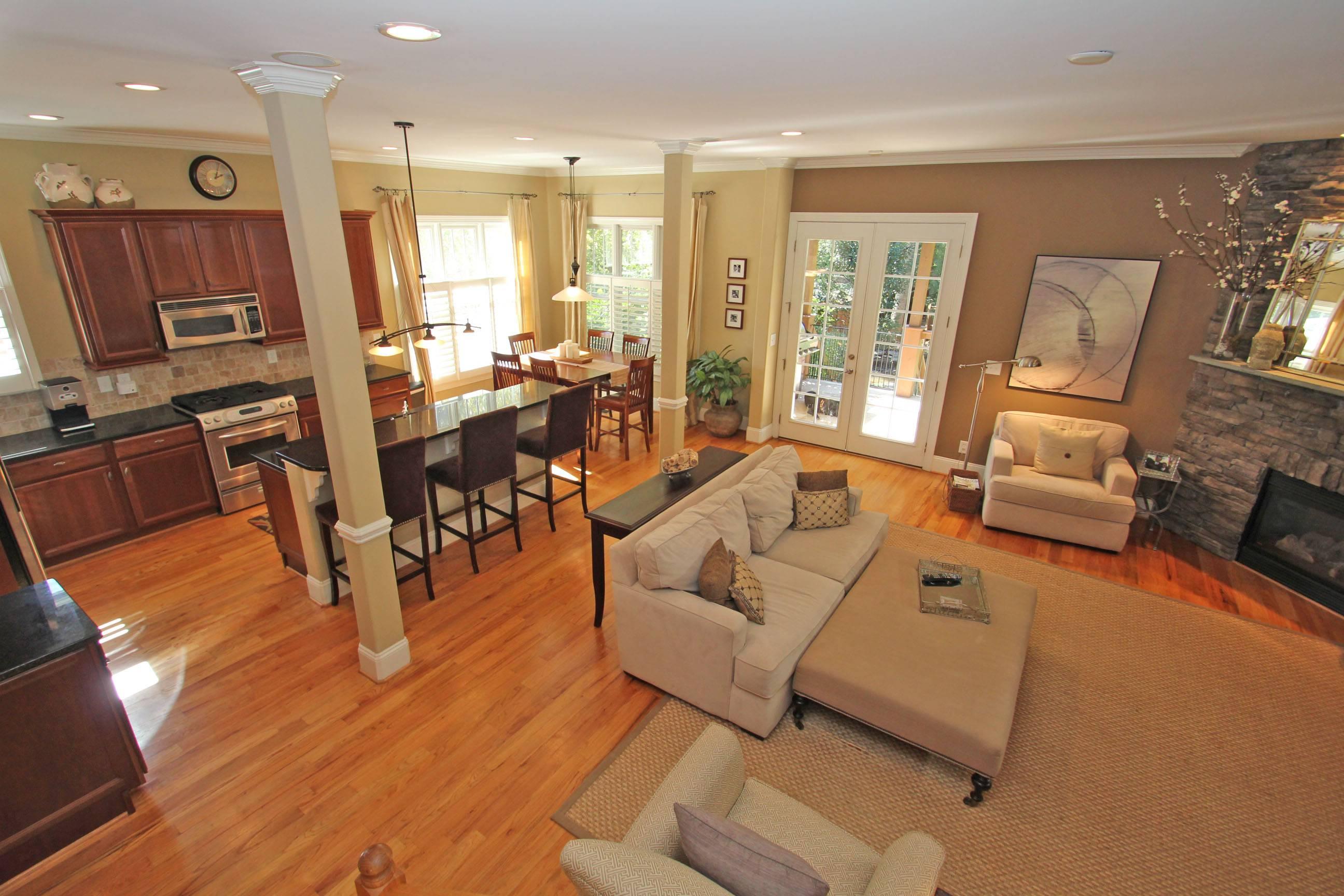 Open Kitchen Living Room Floor Plan