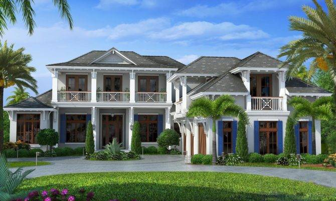 Upscale Florida Home Plan Floor Master