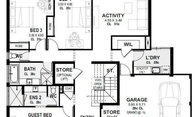 Upside Down Living Home Designs Plans Perth Novus Homes