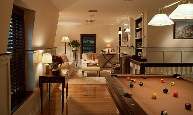 Upstairs Game Room Basement Ideas Pinterest