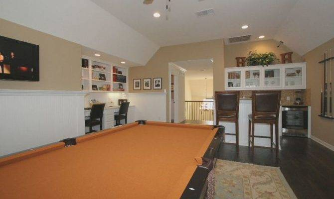 Upstairs Game Room Card Pinterest