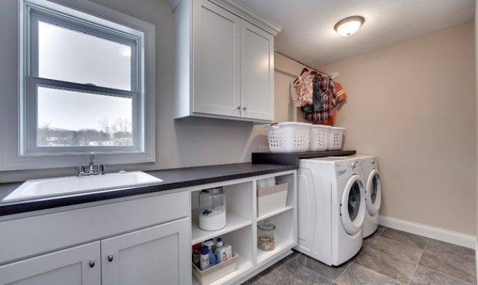 Upstairs Laundry Room Bay Lake Reserve Model