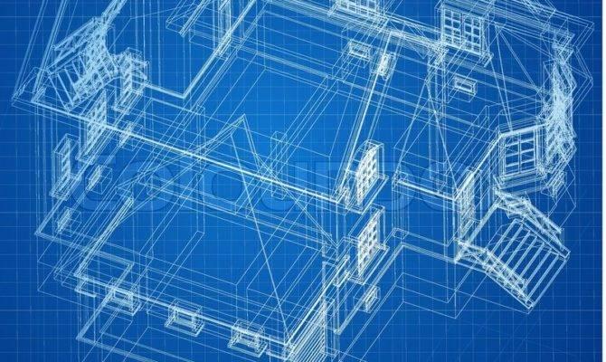 Urban Blueprint Vector Architectural