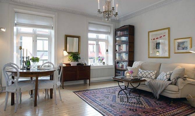 Urban Country Style Swedish Apartment Design Decorating