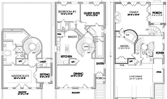 Urban Home Floor Plan Sale Narrow