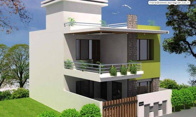 Urbanismo Squares Modern House Duplex Plans