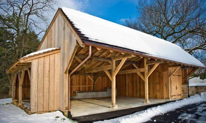 Useful Shed Shelter Tfbc Member Hugh Lofting Timber Framing