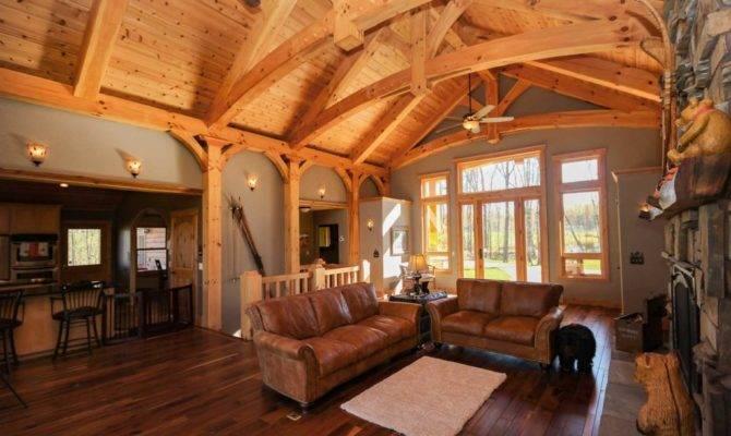 Utah Timber Frame Homes Blue Frames