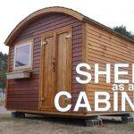 Vacation Cabin Tiny House Potential Bow Roof Shed Vermont
