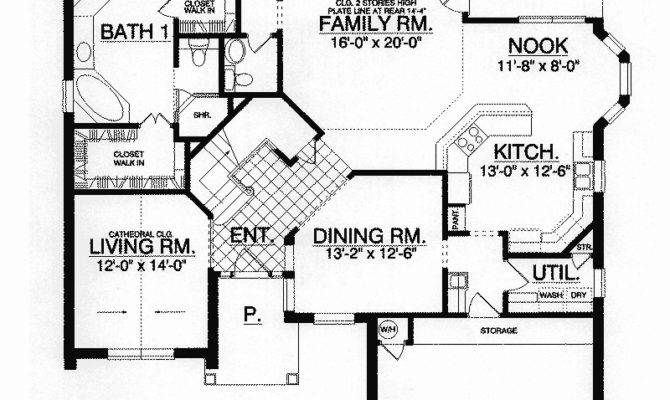 Valley Cottage Neoclassical Plan House Plans