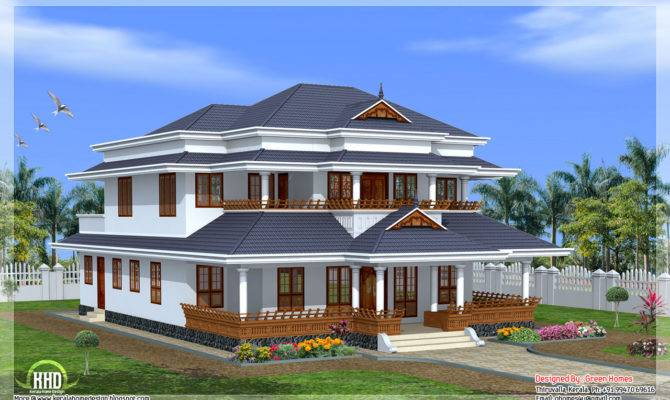 Vastu Based Traditional Kerala Style Home Design