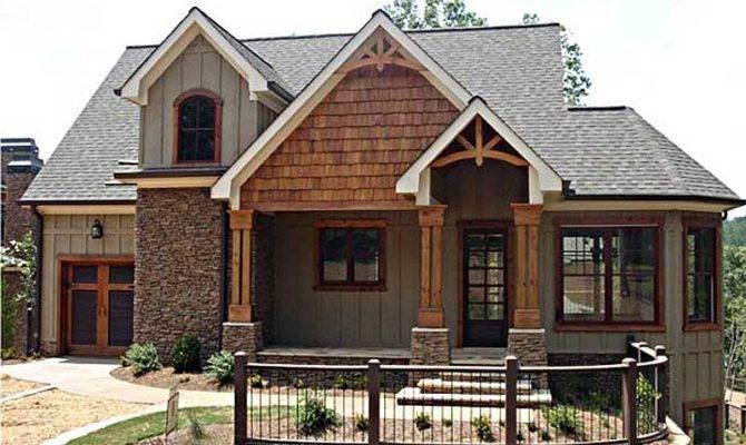 Vaulted Spaces Abound Cottage Craftsman