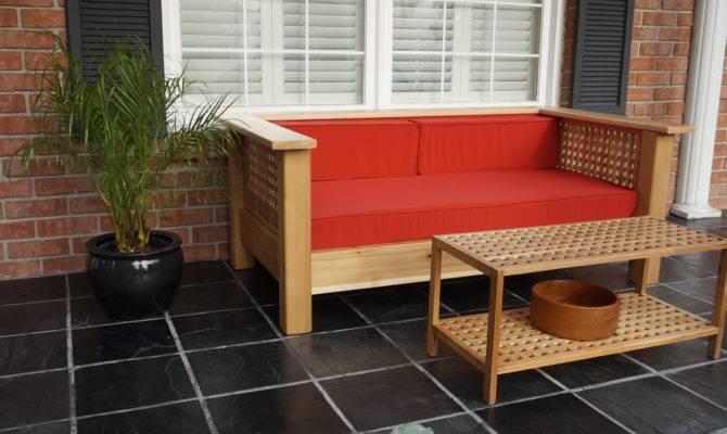 Veranda Bench Canadian Home Workshop