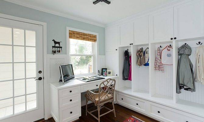 Versatile Mudrooms Double Home Workspaces