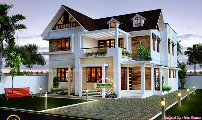 Very Beautiful House Designs Homes Floor Plans