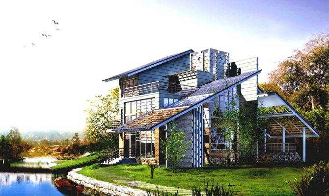 Very Cool Houses Modern Architecture Green