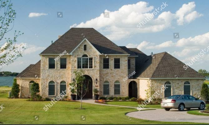 Very Large Beautiful Stone Brick House